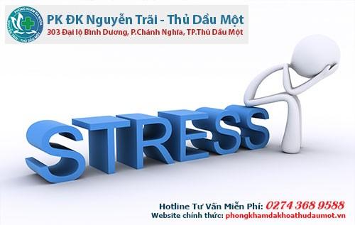 Bị yếu sinh lý do căng thẳng