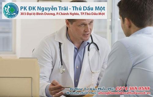 Bác sĩ sẽ tư vấn cho bạn phương pháp điều trị