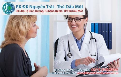 Đến Đa Khoa Thủ Dầu Một, người bệnh sẽ được các bác sĩ tận tình điều trị
