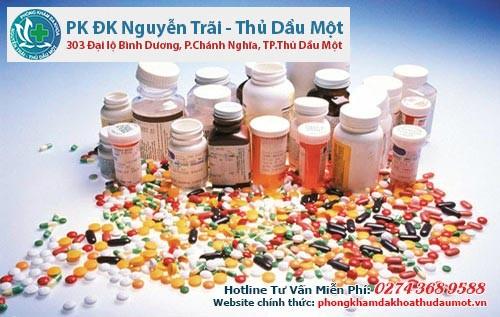 Phòng khám đa khoa Thủ Dầu Một trị nứt kẻ hậu môn với nội khoa(dùng thuốc)