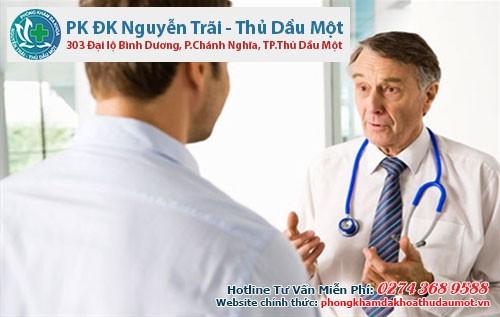 Bác sĩ sẽ hướng dẫn cho bạn điều trị